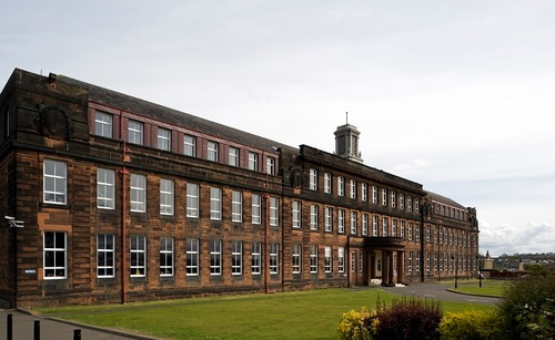 Jordanhill School in the west end of Glasgow