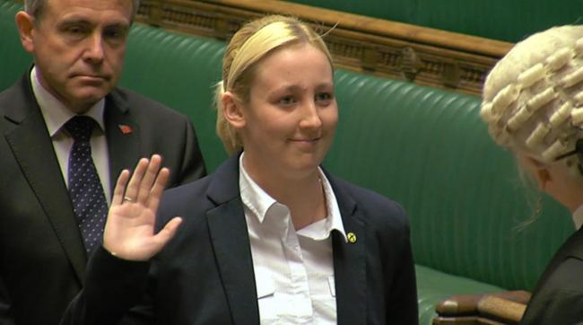 Mhairi Black was one of the first SNP MPs to take the oath
