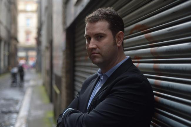 Crime writer Gavin Bell: I said they could call me Susan Cross if it means getting a book deal