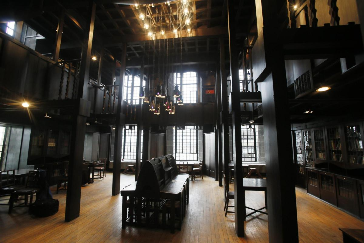 glasgow school of art interior design layout