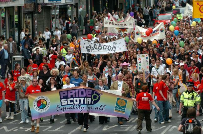 LGBT Scots say they still face inequality, although things are changing.
