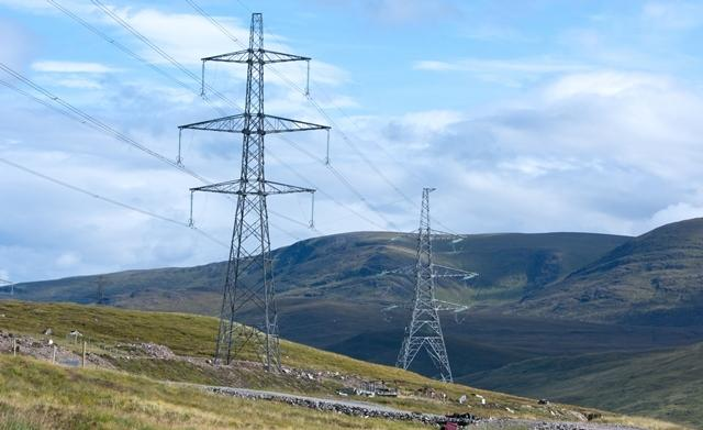 Beauly to Denny power line nearly finished, but still dividing opinion