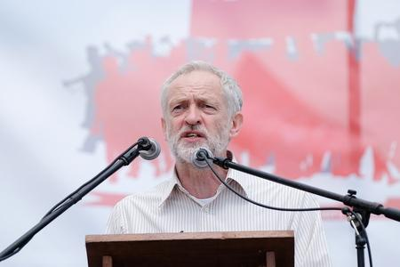 HeraldScotland: Potential Labour party leader Jeremy Corbyn speaks to crowds during the annual Durham Miners Gala on July 11, 2015 in Durham, England