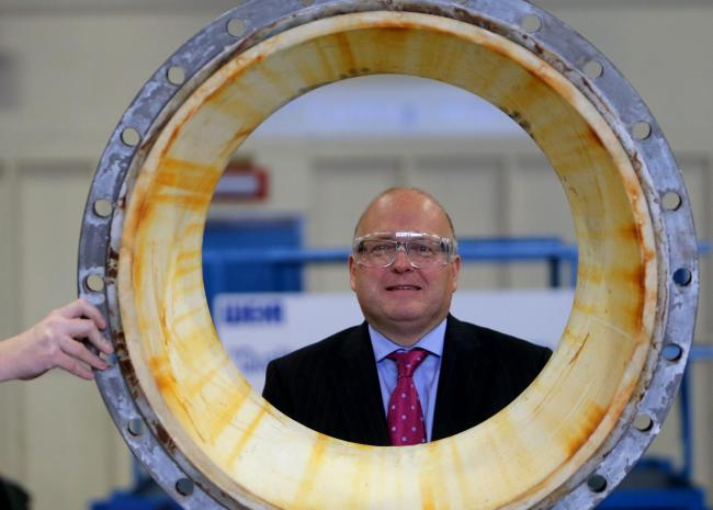 Weir Group chief executive Keith Cochrane. Picture: Gordon Terris.