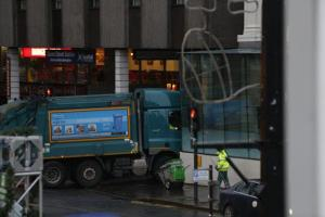 Bin lorry crash driver lied about a previous blackout just hours after the incident, an inquiry has heard