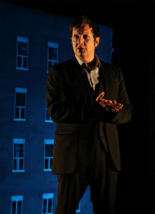 Robert Lepage in a scene from 887 at EICC as part of the Edinburgh International Festival.Pic Gordon Terris/The Herald12/8/15 (36159667)
