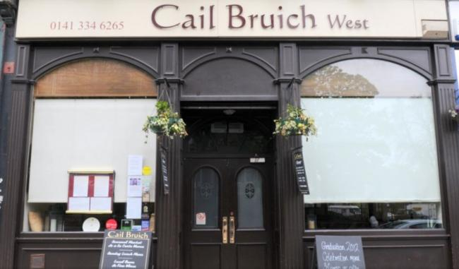 Cail Bruich chef wins payout after being sacked by text message