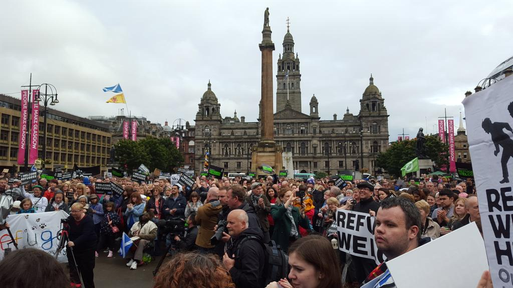 Hundreds gather for Glasgow Sees Syria Event