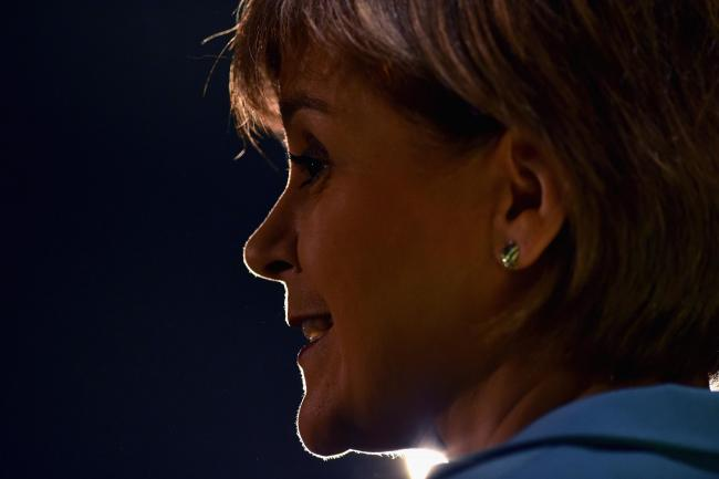 First Minister Nicola Sturgeon (Photo by Jeff J Mitchell/Getty Images)