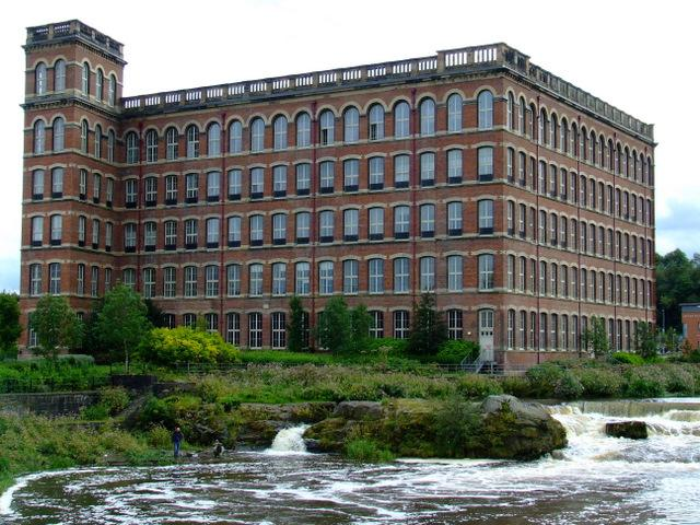 The Anchor Mills a remnant of Paisley's Victorian industrial heritage.