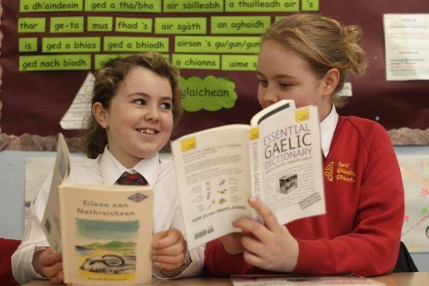 Slight increase in numbers of children able to speak Gaelic