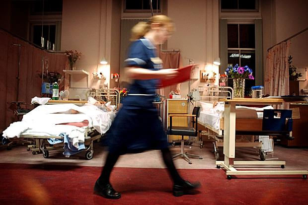 Number of hospital beds in Scotland drops by 600 in a year