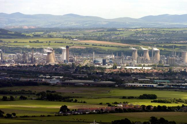 Grangemouth oil refinery
