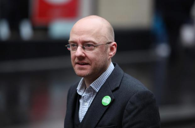 Scottish Green co-convener Patrick Harvie
