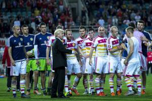Tartan Army set to sway emotional Gordon Strachan as he mulls over his future as Scotland manager