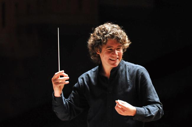 Robin Ticciati, conductor with the SCO. (52717344)