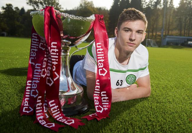 Kieran Tierney looks ahead to the League Cup quarter final with Hearts. Picture: SNS