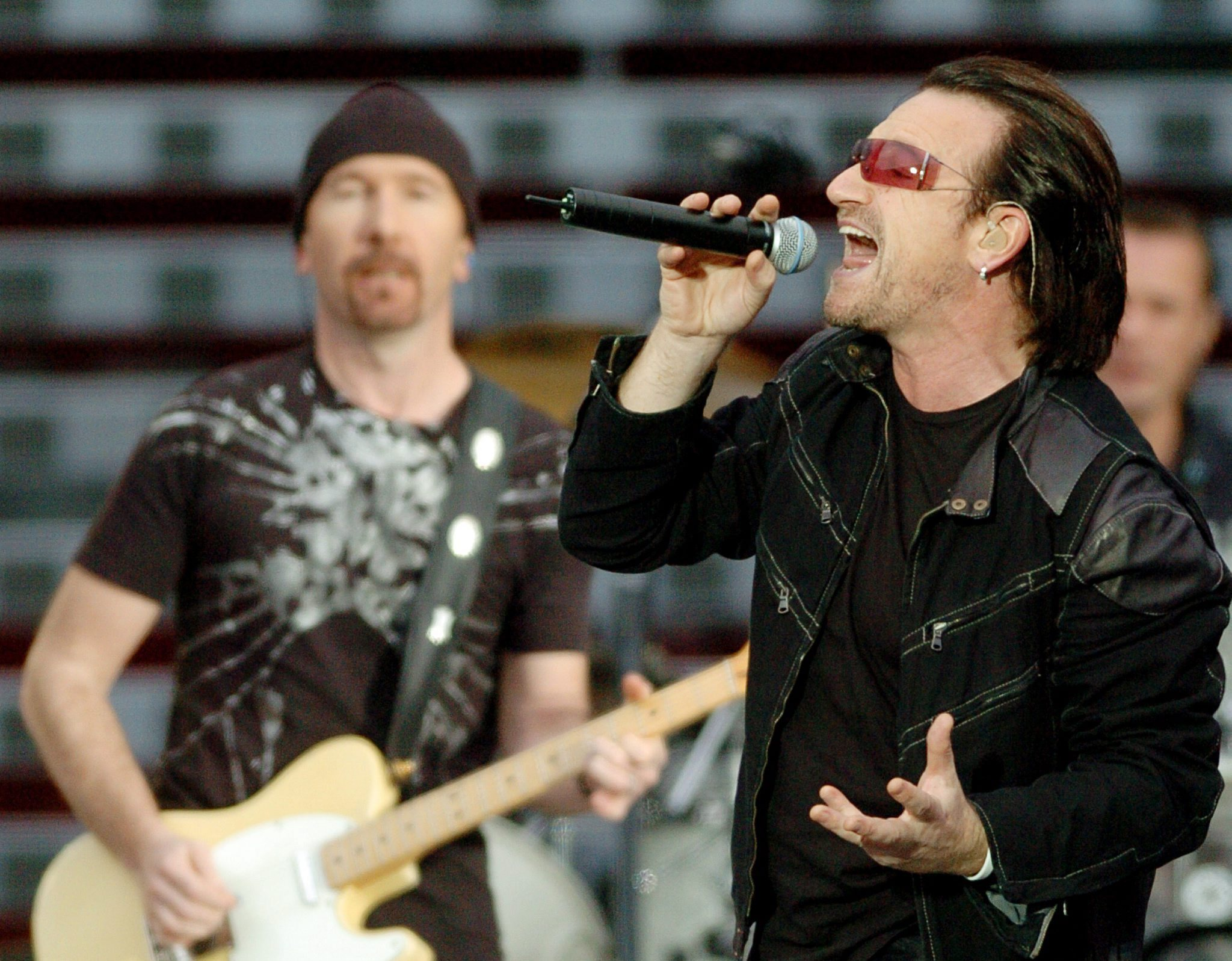 Bono and The Edge played Hampden Park with U2 and they are back in Glasgow this weekend