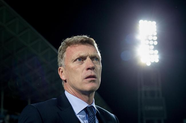 GLARE OF THE SPOTLIGHT: David Moyes' failure to speak Spanish remains a sore point as Real Sociedad fans dissect his year in charge of their team
