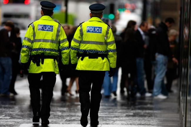 Revealed: only half of all Scottish police officers are on the frontline