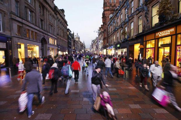Hope for Scotland's high streets with drop in number of empty shops
