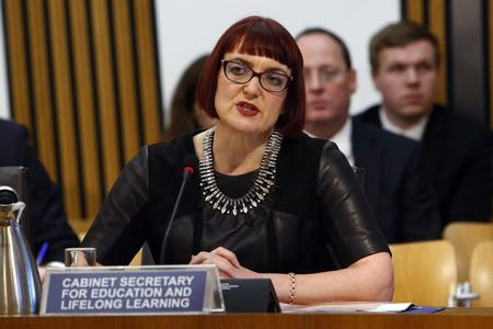 HeraldScotland: Education Secretary Angela Constance giving evidence to the Scottish Parliament's public audit committee