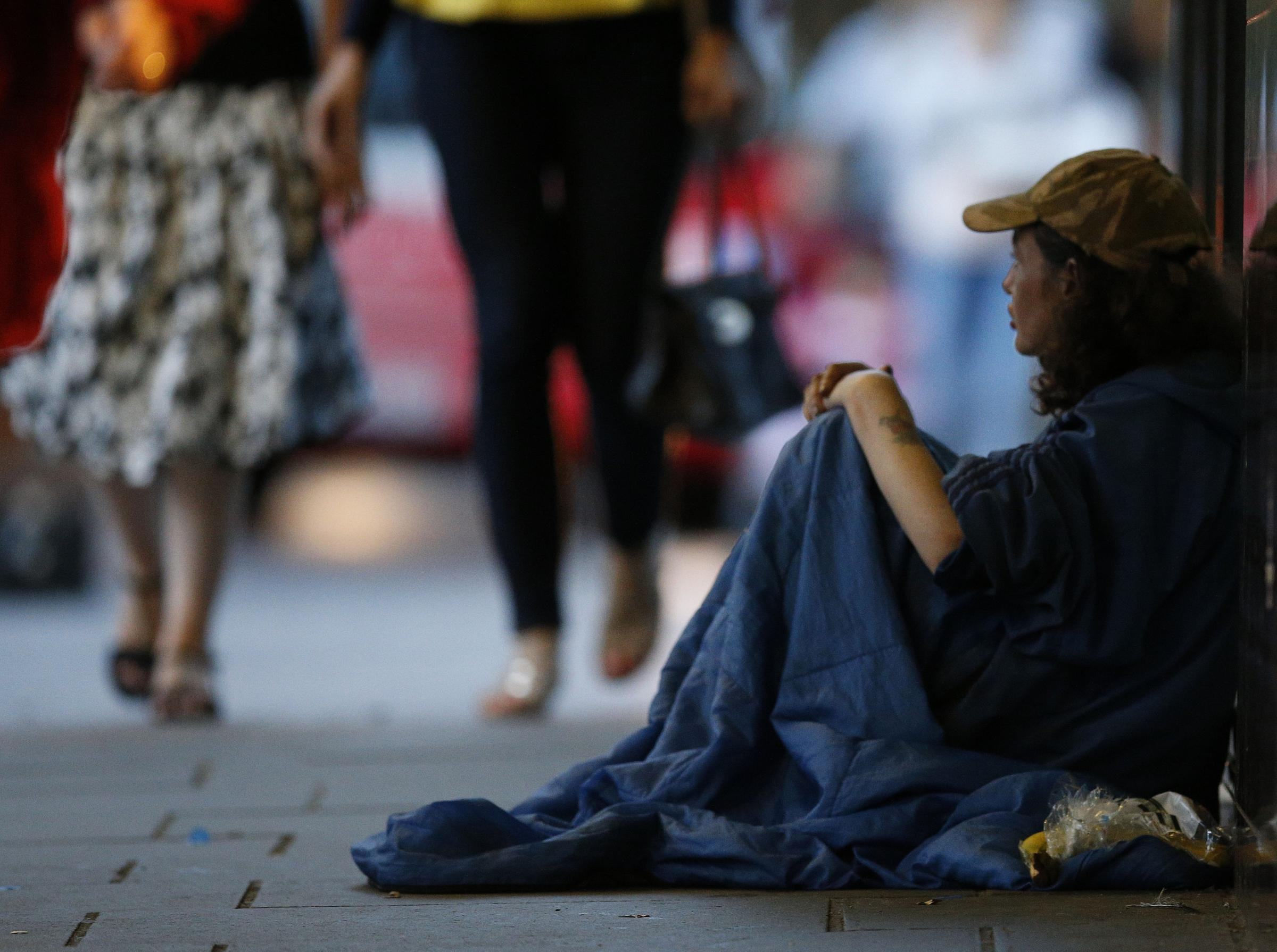 Charities say there is a homeless crisis