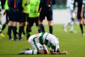 Celtic striker Leigh Griffiths: Blame me for Europa League exit