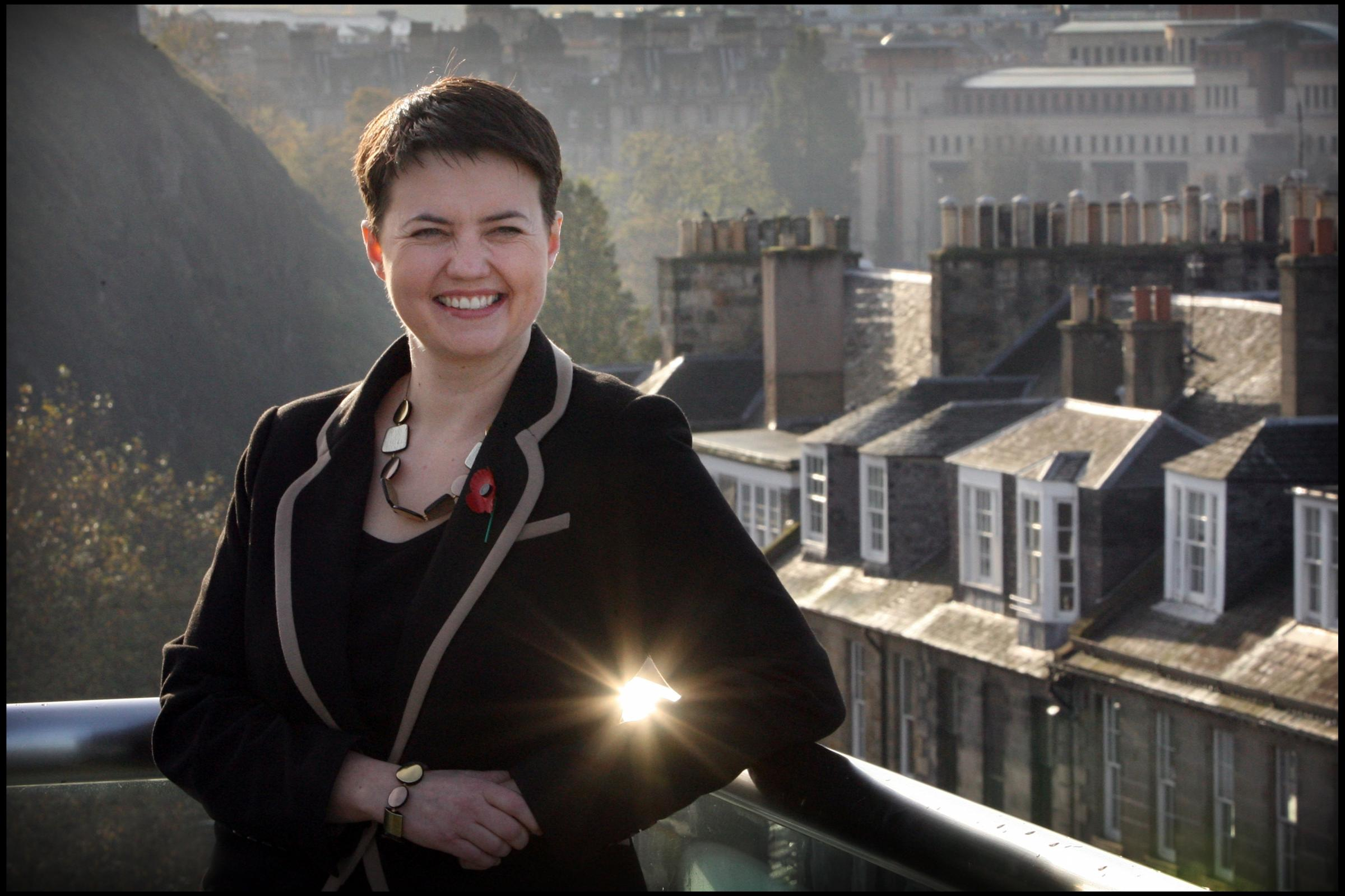Ruth Davidson wades into Mundell family row over son's Holyrood bid