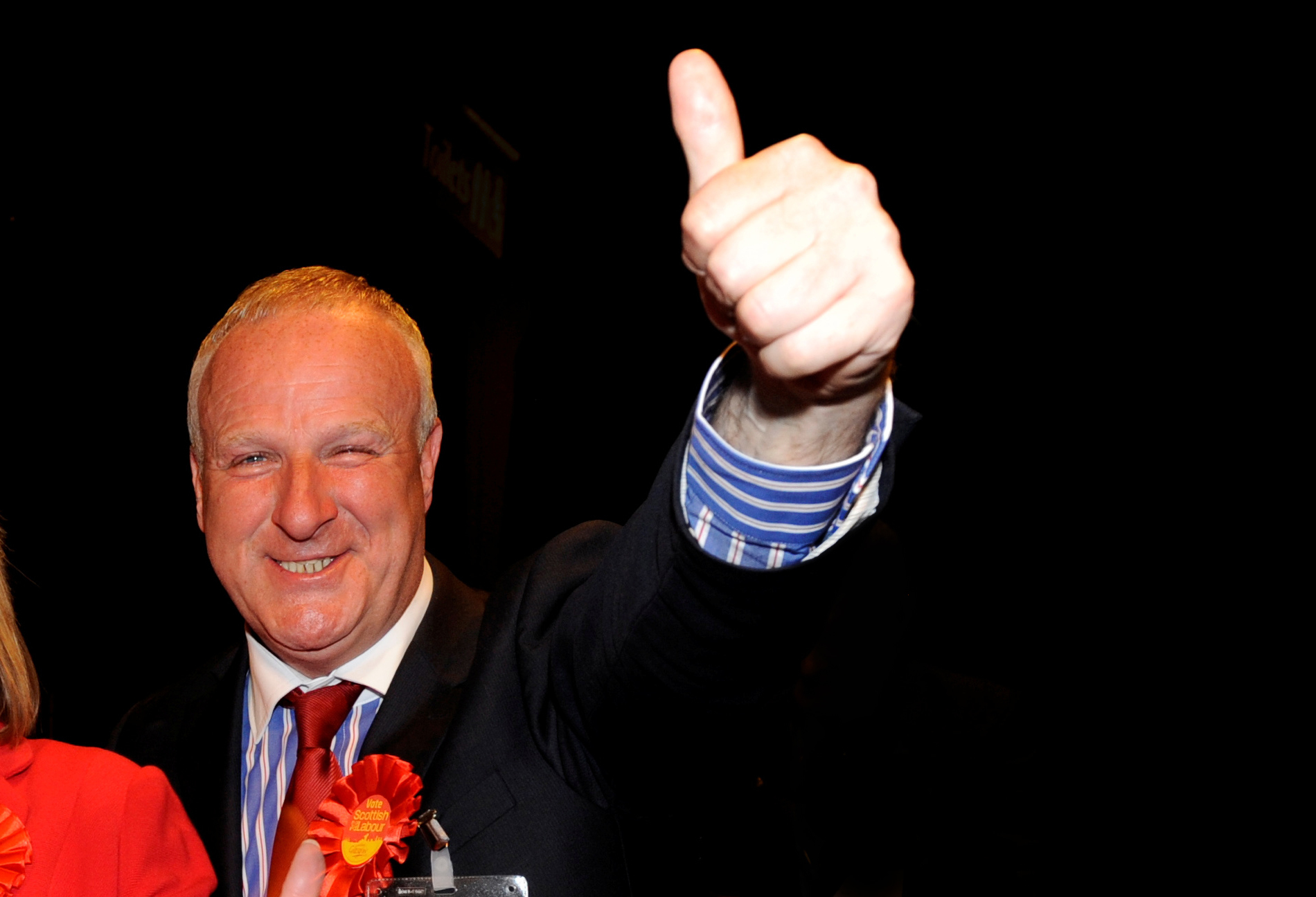 Russell Robertson after he was elected as Labour councillor for Ward 18 East Centre in 2012