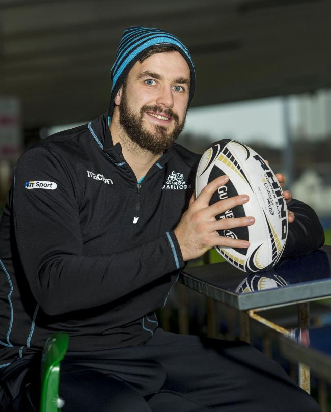 Glasgow Warriors' Alex Dunbar looks ahead to his side's Guinness PRO12 match against Leinster
