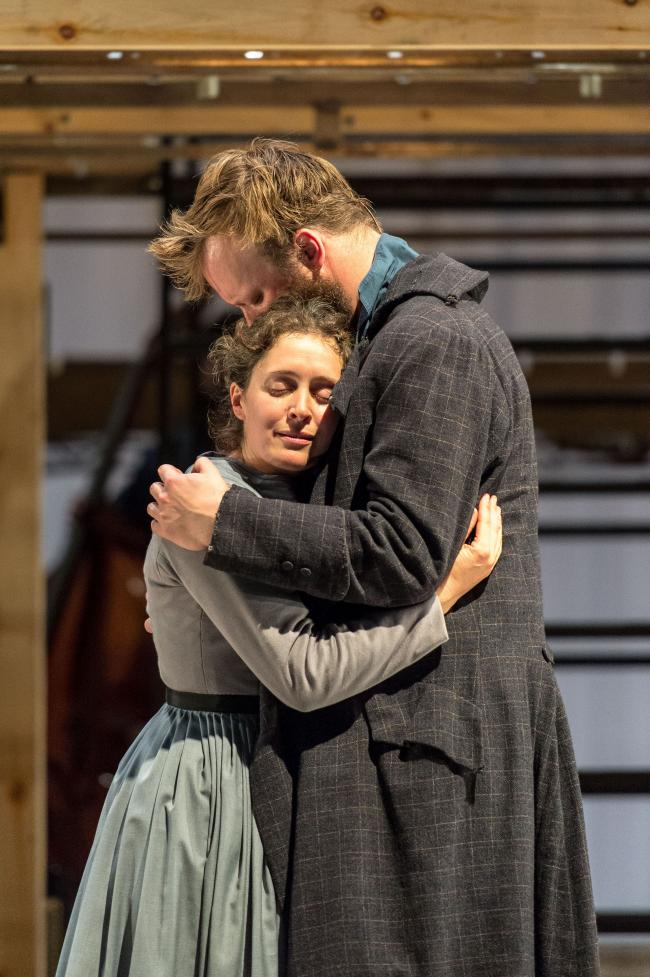 Madeleine Worrall (Jane) and Felix Hayes  (Rochester) __Jane Eyre_credit Manuel Harlan
