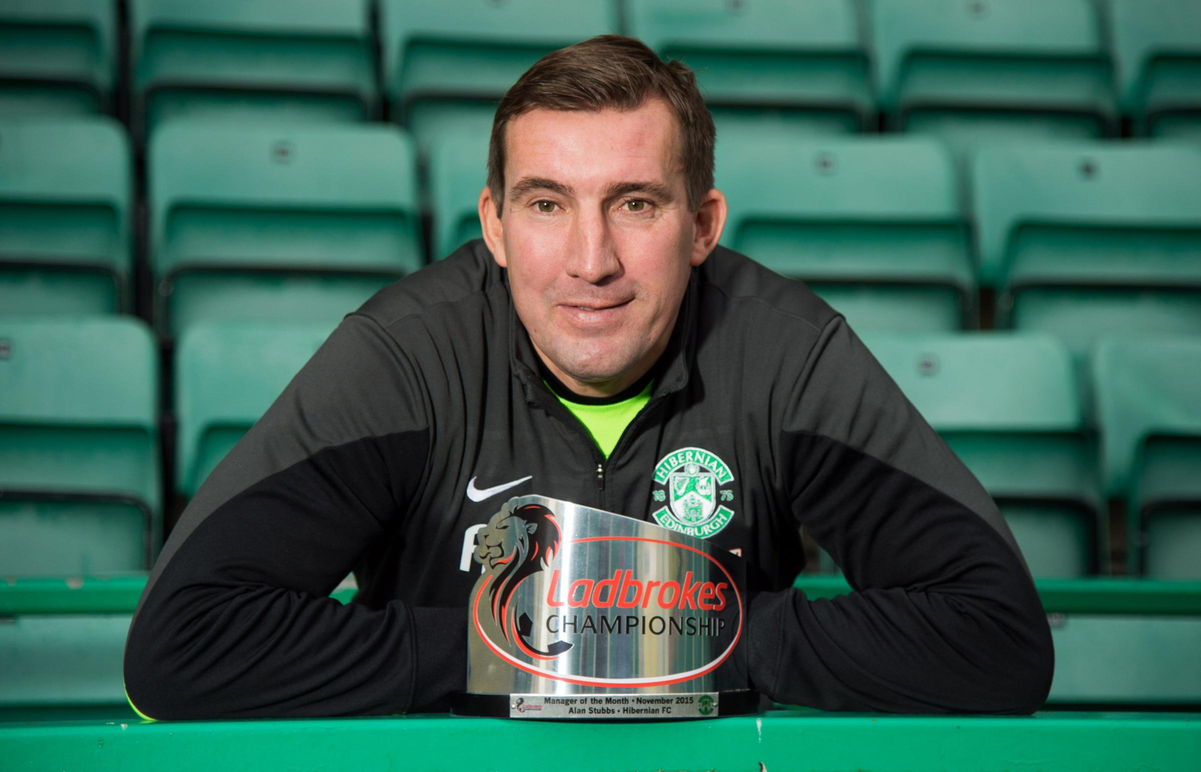 Hibernian Manager Alan Stubbs wins another award and is one reason why he has been linked to other clubs