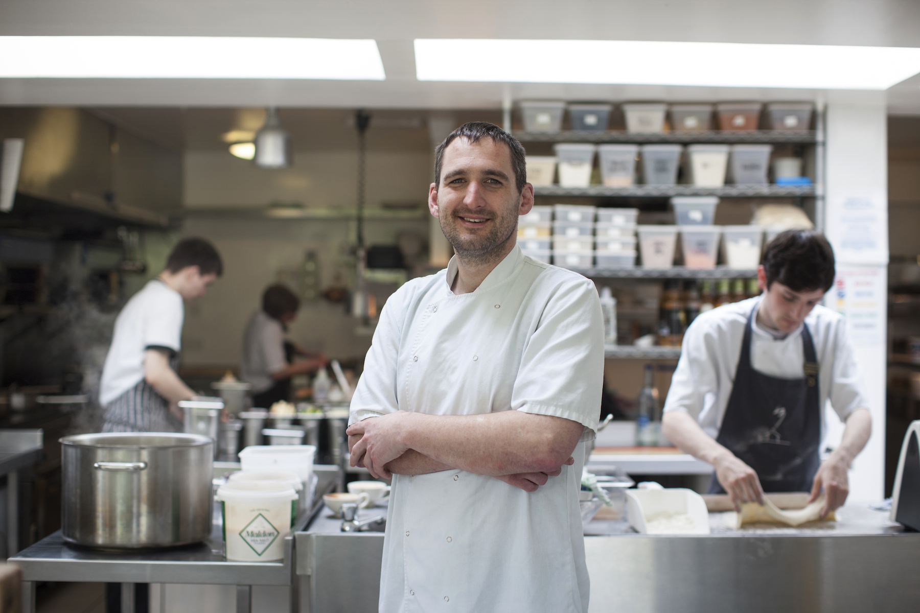 Scott Davies is the new head chef at the Three Chimneys