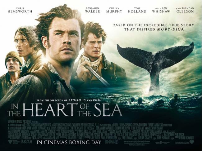 Alison Rowat film review: In the Heart of the Sea