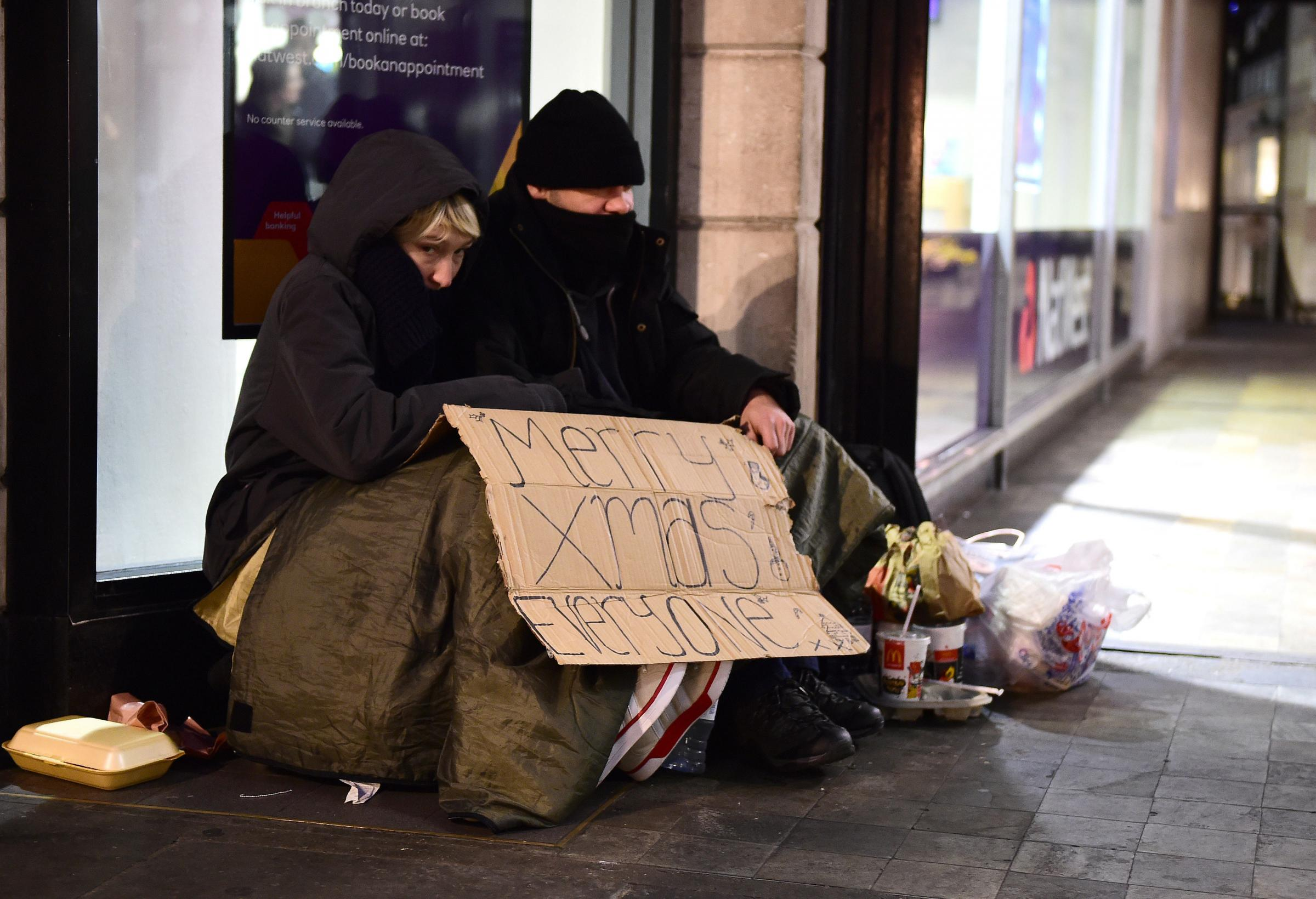Labour: soaring levels of homelessness under Cameron mean more children facing Christmas on streets