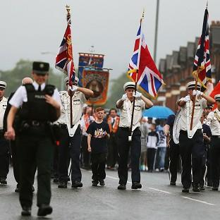 Critics say the Orange Order arguably has a religious and political message