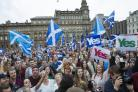 How George Square in Glasgow may look if UK votes to exit EU