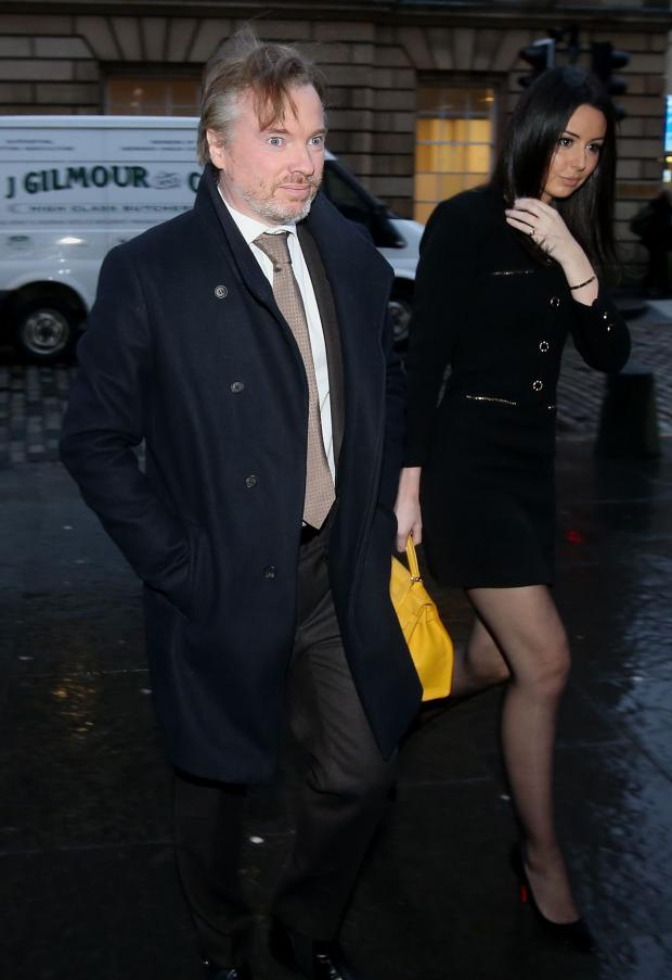 HeraldScotland: Craig Whyte arriving for the latest preliminary hearing