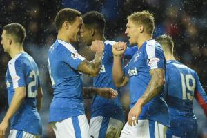Rangers 5-1 Cowdenbeath: Scottish Cup success for Mark Warburton's side
