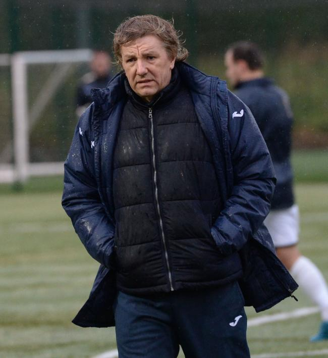 East Kilbride manager Billy Ogilvie