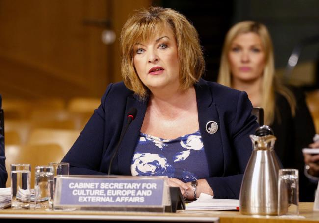 Fiona Hyslop once warned