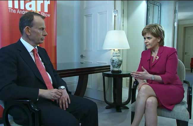 "Sturgeon demands ""significant"" movement from Westminster on finance deal or plan could collapse"