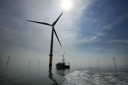 Offshore wind capacity in Europe increased by 18 percent last year