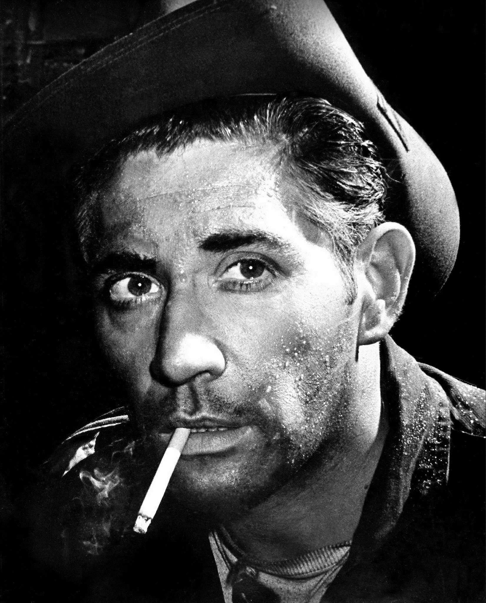 Frank Finlay as he appears in The Long and the Short and the Tall in Glasgow in 1959