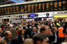 Nearly nine in every hundred passenger train services in Scotland last year were hit by delays or cancellations