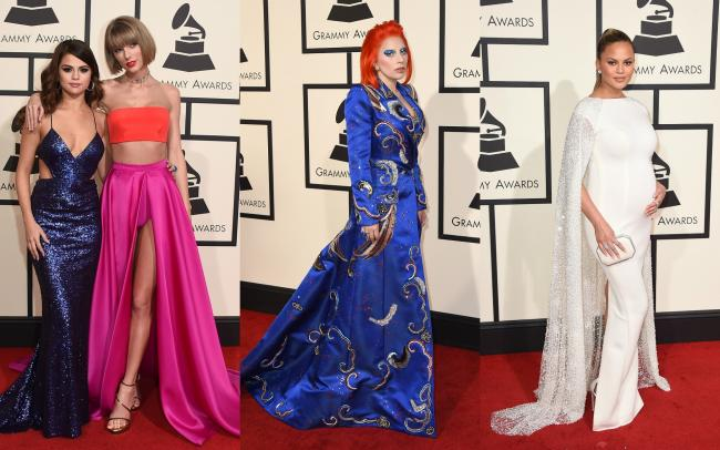 Grammys 2016: Lady Gaga, Taylor Swift... All of the red carpet fashion highlights and fails