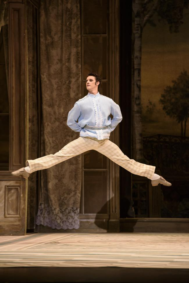 Iain Mackay performing in Birmingham Royal Ballet's A Month in the Country. Picture: Bill Cooper
