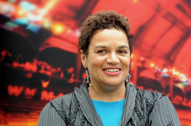 Poet and author Jackie Kay