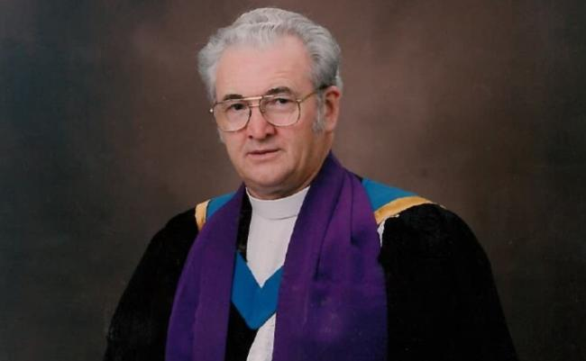 Rev Sandy Mcdonald, former Moderator of the General Assembly of the Church of Scotland